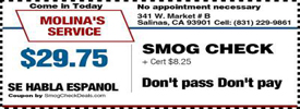 Smog-Check-Coupon-Salinas-CA
